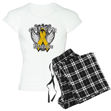 Appendix Cancer Warrior Women's Light Pajamas