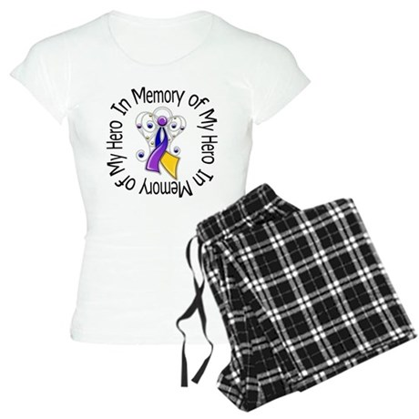 In Memory - Bladder Cancer Women's Light Pajamas