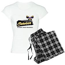 Bladder Cancer Survivor pajamas