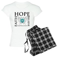 Hope Faith Cervical Cancer Pajamas