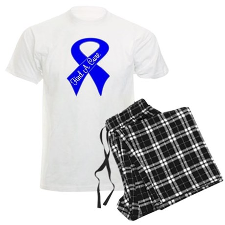 Find a Cure Colon Cancer Men's Light Pajamas
