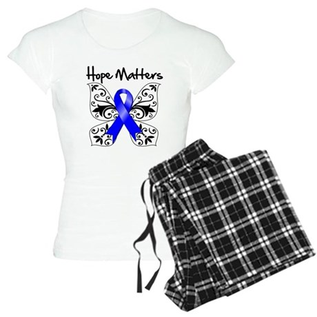 Hope Matters Colon Cancer Women's Light Pajamas