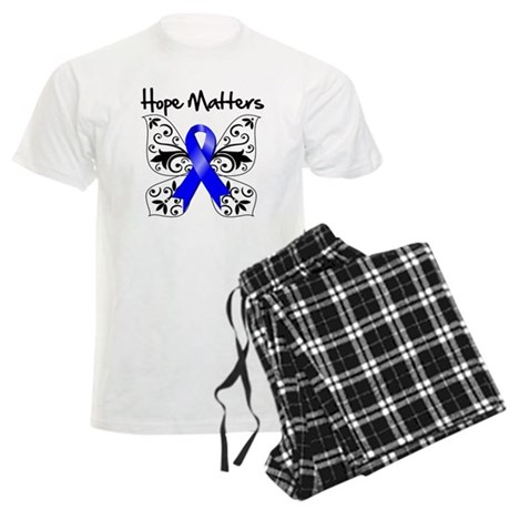 Hope Matters Colon Cancer Men's Light Pajamas
