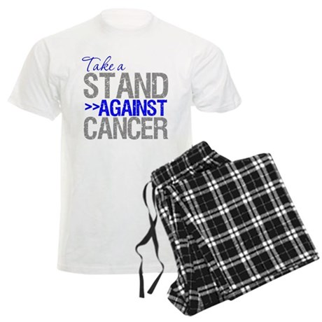 Take a Stand Colon Cancer Men's Light Pajamas