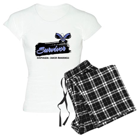 Survivor Esophageal Cancer Women's Light Pajamas