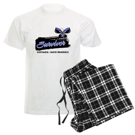 Survivor Esophageal Cancer Men's Light Pajamas