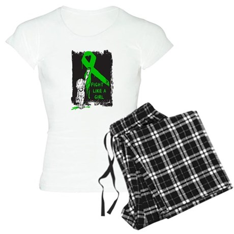 Graffiti FLAG Bile Duct Cance Women's Light Pajama