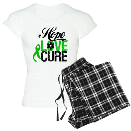 Hope Love Cure Bile Duct Women's Light Pajamas