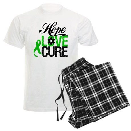 Hope Love Cure Bile Duct Men's Light Pajamas
