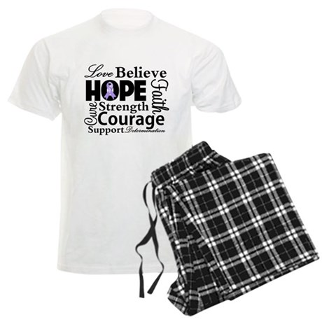 General Cancer Hope Men's Light Pajamas