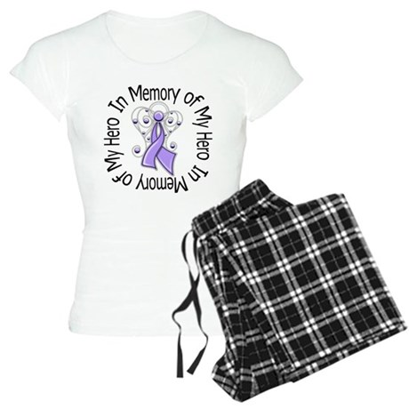 In Memory Angel - Cancer Women's Light Pajamas