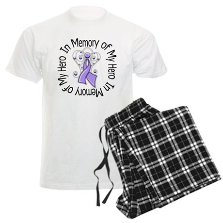 In Memory Angel - Cancer Men's Light Pajamas