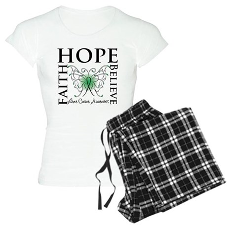 Faith Hope Liver Cancer Women's Light Pajamas