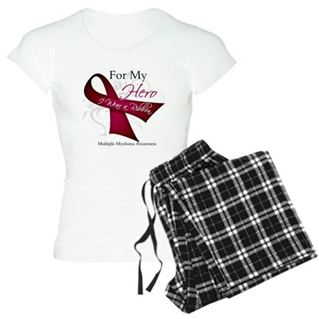 Myeloma For My Hero Women's Light Pajamas
