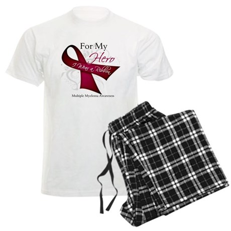 Myeloma For My Hero Men's Light Pajamas