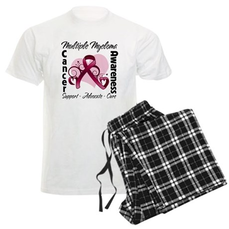 Multiple Myeloma Ribbon Men's Light Pajamas