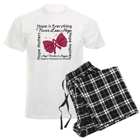 Hope is Everything Myeloma Men's Light Pajamas