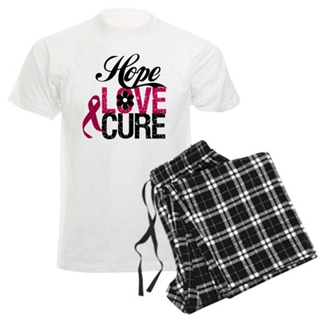 Hope Love Cure Myeloma Men's Light Pajamas