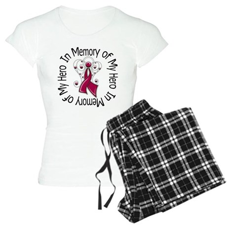 Myeloma In Memory Hero Women's Light Pajamas