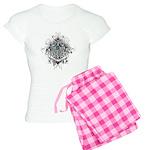 Faith Cross Ovarian Cancer Women's Light Pajamas