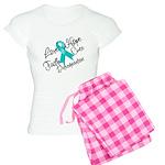 Love Hope Ovarian Cancer Women's Light Pajamas