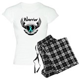 Warrior Ovarian Cancer Pajamas