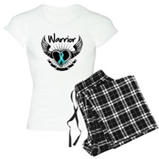 Warrior Ovarian Cancer Pajamas