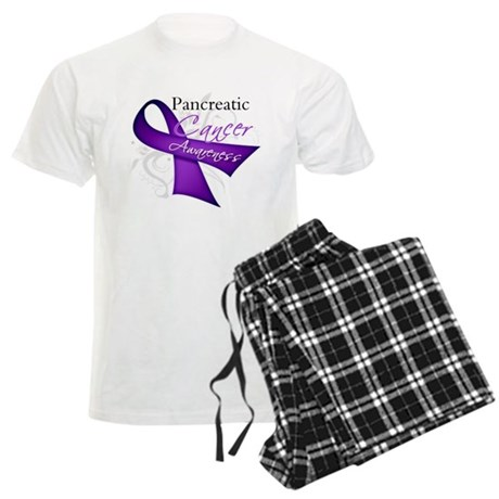 AwarenessPancreaticCancer Men's Light Pajamas