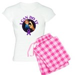 I Can Do It Pancreatic Cancer Women's Light Pajama