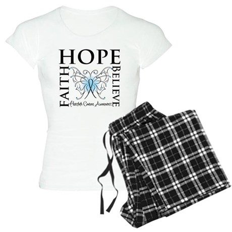 Hope Faith Prostate Cancer Women's Light Pajamas