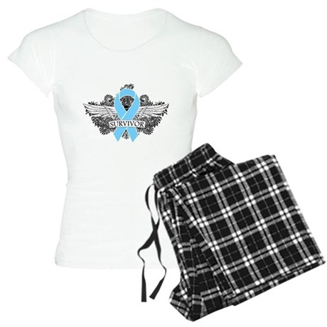 Tattoo Prostate Cancer Women's Light Pajamas