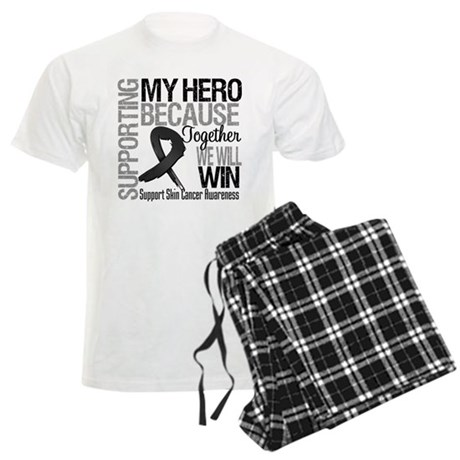 Supporting My Hero Men's Light Pajamas