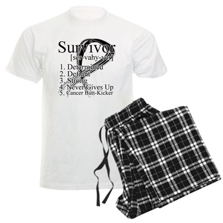 Skin Cancer Survivor Men's Light Pajamas