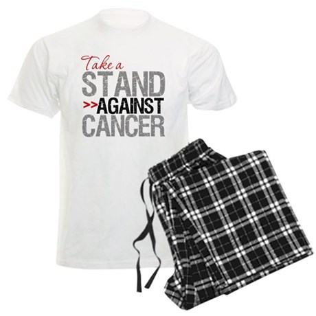 Take a Stand Against Cancer Men's Light Pajamas