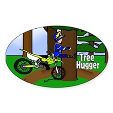 MX Tree Hugger Oval Decal