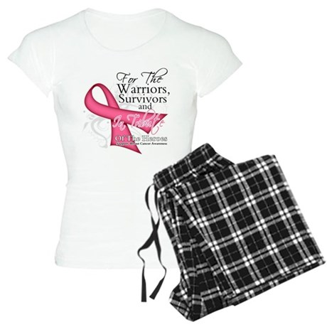 Tribute For Breast Cancer Women's Light Pajamas
