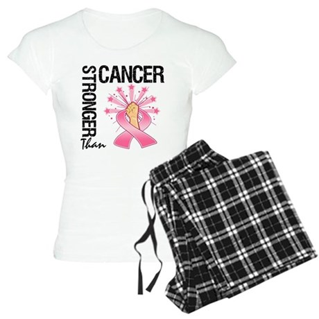 Stronger Than BreastCancer Women's Light Pajamas