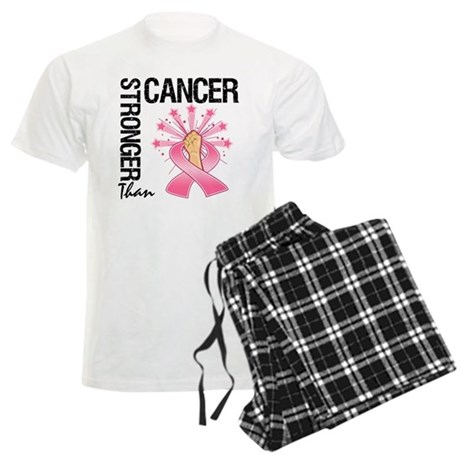 Stronger Than BreastCancer Men's Light Pajamas