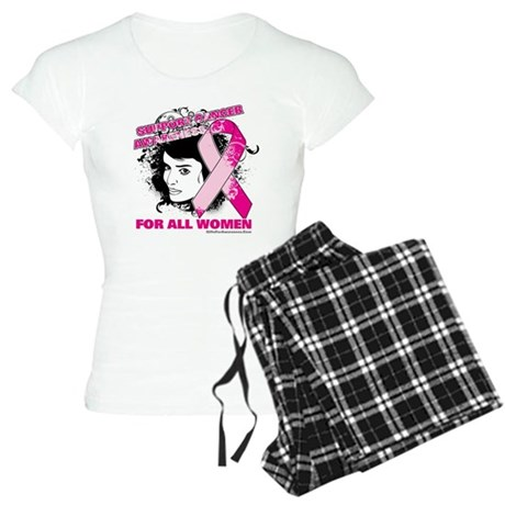 BreastCancer WomanFighter Women's Light Pajamas