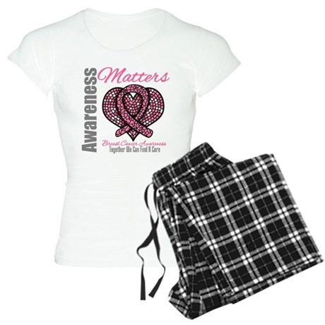 Breast Cancer Mosaic Women's Light Pajamas