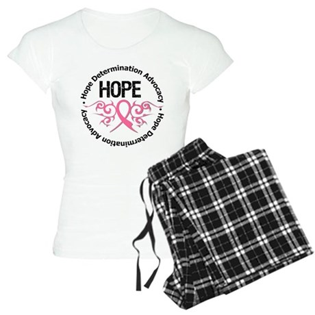 BreastCancer HopeTribal Women's Light Pajamas
