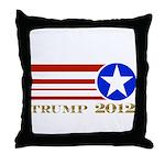 Donald Trump 2012 President Throw Pillow