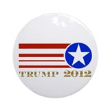 Donald Trump 2012 President Ornament (Round)