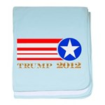 Donald Trump 2012 President baby blanket