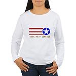 Donald Trump 2012 President Women's Long Sleeve T-