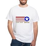 Donald Trump 2012 President White T-Shirt