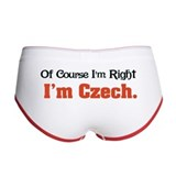 I'm Czech Women's Boy Brief