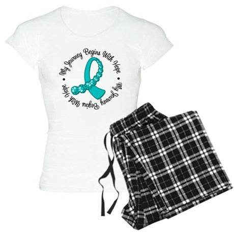 Ovarian Cancer Journey Women's Light Pajamas