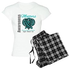 AwarenessMatters TealRibbon Pajamas