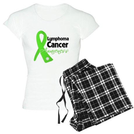 Lymphoma Cancer Awareness Women's Light Pajamas